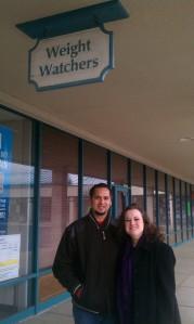 On our trip to Ohio in December we kept accountable by attending a local Weight Watchers Meeting. It was SO much fun!